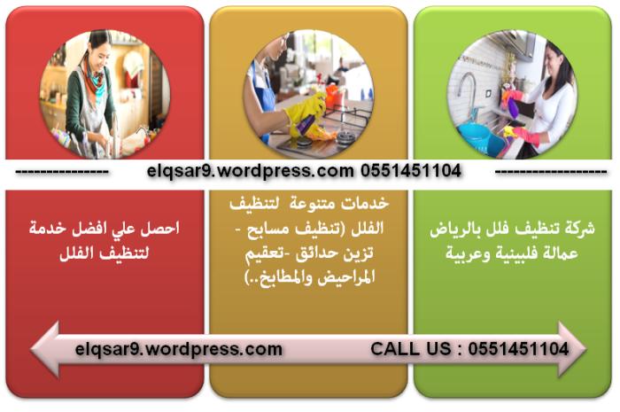 قصر كلين تعد افضل شركات تنظيف الفلل في الرياض